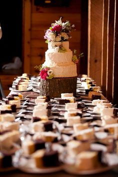 Aimee, I like this one the best. Log cake stand.