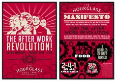 "The Hourglass, Manchester,  ""Revolution"" promo"