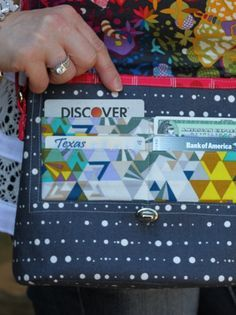 Margo Wallet Bag is a compact design, yet has a place for everything you carry. A convenient set of pockets under the flap holds ID and credit cards securely, yet easy to access. On the back exterior