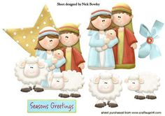 BUILD UP A GOLD STAR NATIVITY SCENE on Craftsuprint - Add To Basket! Christmas Crafts, Christmas Ornaments, Christmas Scrapbook, Quick Cards, Gold Stars, Christmas Traditions, Nativity, Card Making, Crafting