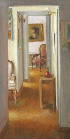 Jean-Christophe Gondouin, chez le peintre