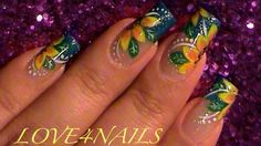 Summer Yellow Flowers by LOVE4NAILS