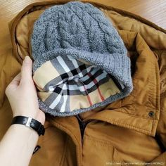 Как рассчитать подклад для вязаной шапки