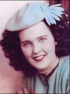 Elizabeth Short a beautiful young woman brutally murdered before her time.