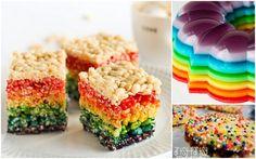 rainbow rice krispy treats if fruity pebbles doesn't work