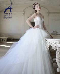 Atelier Aimeewedding dresses are perfect for the bride who makes daring yet timeless fashion choices. This bridal brand is known for its sophisticated, glamorous, feminine designs and its luxurious fabrics. See below for the part I of their fabulous 2015 collection. Happy Pinning! See part II here.