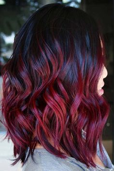 18 Best Winter Hair Colors ★ Trendy Ombre Hairstyles that Make Your Hair Shine Picture 5 ★ See more: http://glaminati.com/best-winter-hair-colors/ #winterhaircolors #haircolors
