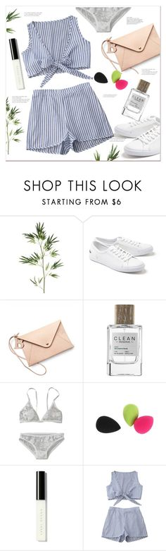 """""""Outfit ideas"""" by mycherryblossom ❤ liked on Polyvore featuring Pier 1 Imports, Lacoste, HarLex, CLEAN, Bobbi Brown Cosmetics, WhatToWear, polyvoreeditorial, polyvorestyle and zaful"""