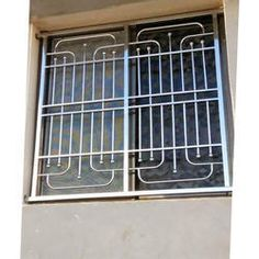 Stainless Steel Window Grill - Buy Stainless Steel Window Grills at best price of Rs 850 /square feet from AADI Steel Furniture. Iron Window Grill, Grill Gate Design, Window Grill Design Modern, Balcony Grill Design, Front Gate Design, Balcony Railing Design, Door Gate Design, Steel Grill Design, Steel Railing Design