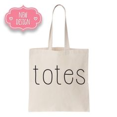 """🔹TWO LEFT🔹""""TOTES"""" TOTE- Posh Exclusive Design! 🙋🏻POSH EXCLUSIVE! By new vendor Salt Lake Clothing.  """"TOTES""""  tote! Cream with Black lettering. Measures 14.5""""W, 15.5""""L, with approx 24"""" handle drop. So cute!! Price is for EACH.  Bundle with other totes in my closet and SAVE! Price firm unless bundled. Get TWO! 🙋🏻 Salt Lake Clothing Bags Totes"""