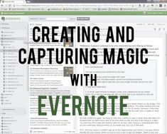 Creating and Capturing Disney Magic with Evernote
