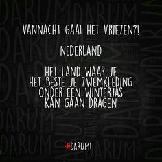 Nederland ☃️☔⛈ Het kan álle kanten op.