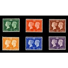 QUEEN VIC AND KING GEO VI - 1940 MINT SET for R55.00