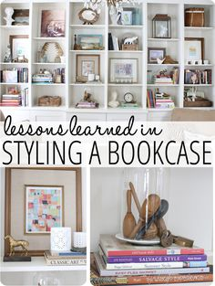Decorating Ideas for Styling a Bookcase
