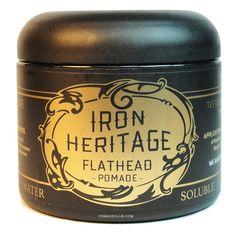 Iron Heritage Flathead Water Based Pomade 4oz