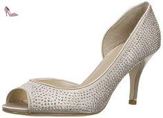 Lotus Soire, Escarpins Salomés Femme - Beige (Nude Satin/Diamante), 38 EU - Chaussures lotus (*Partner-Link)