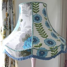 Lisbet Patchwork Double Scallop Standard Lampshade £95