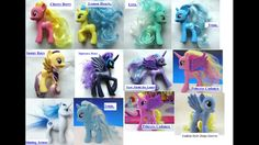 New my little pony big set comes with Cherry berry, Lemon, Lyra heartstrings, Trixie Lulamoon, Sunny days, Nightmare Moon, Princess Luna, Princess cadence, Shining Armor, and Derpy hooves or Disty Doo