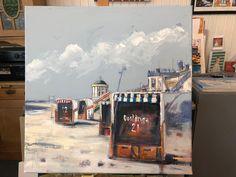 Wenning, Am Meer, Painting, Art, Atelier, North Sea, Eyes, Landscape, Nice Asses
