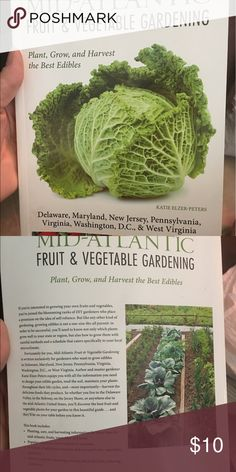 Mid -Atlantic fruit & vegetable gardening book Brand new never used . Moved to Florida and now doesn't mean anything to me .. Looking for a new home .. Other