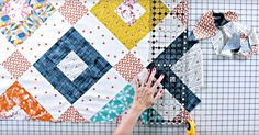 It's Hard To Believe The Blocks In This Gorgeous Welded Quilt Are So Simple!