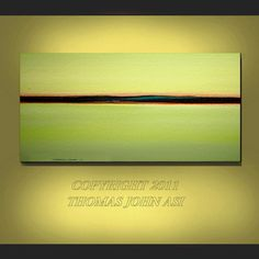 ORIGINAL PAINTING Abstract Modern Ocean door americanartsgallery, $199.70