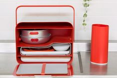 Royal College of Art graduate Yu Li has designed a portable kitchen that is aimed at millennials with limited space in their homes.