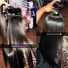 straight-hairstyles-are-easy - Fab New Hairstyle 1 Baddie Hairstyles, Black Girls Hairstyles, Weave Hairstyles, Straight Hairstyles, Cute Hairstyles, Bun Hairstyle, Short Hair Styles, Natural Hair Styles, Braids With Weave