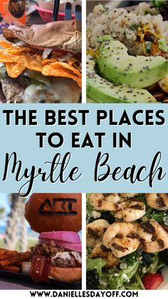 Beach Vacation Meals, Myrtle Beach Vacation, Beach Meals, Beach Trip, Vacation Ideas, Vacation Spots, Beach Dinner, Beach Lunch, Myrtle Beach South Carolina