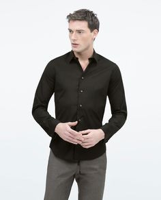 ZARA - MAN - Stretch shirt