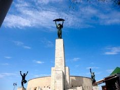 Liberty Statue, Citadel, Budapest, Hungary, Europe