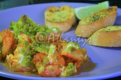 Terapia do Tacho: Camarão mediterrâneo (Mediterranean style shrimp)