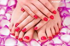 manicure and pedicure poster #poster, #printmeposter, #mousepad, #tshirt