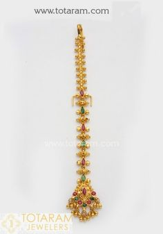 Gold Chain Design, Gold Bangles Design, Gold Earrings Designs, Gold Jewellery Design, Tika Jewelry, Indian Jewelry Earrings, Gold Jewelry, Gold Necklace, Indian Bridal Jewelry Sets