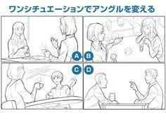 【イラスト豆知識】アングルの引き出しを持っておく – ビジネスアニメ