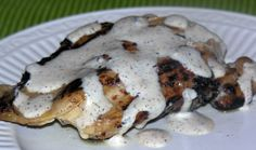 Grilled Chicken with White BBQ Sauce...love the newks Q.