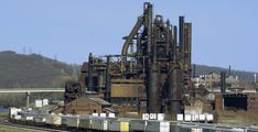 Steelworkers Union is Helping Turn Massive Abandoned Steel Mill into Producer of Wind Turbines #climatechange #windturbines #repurposing Good News Stories, Steel Mill, Workers Rights, Offshore Wind, Construction Jobs, Future Jobs, Repurposing, Historical Sites, Climate Change