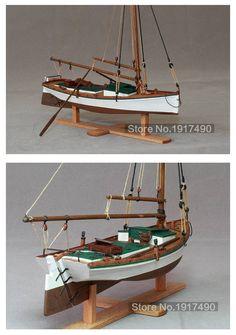 Model Sailing Ships, Model Ships, Model Ship Building, Boat Building, Wooden Sailboat, Wooden Boats, Classic Sailing, Boat Projects, Viking Ship