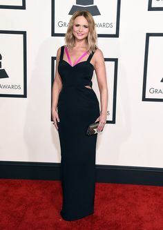Miranda Lambert in Gabriela Cadena at the Grammy Awards. (Photo: Jordan Strauss/Invision, via Jordan Strauss/Invision/Ap)