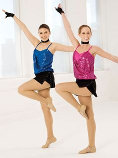 All for You - Style 0252 | Revolution Dancewear Jazz/Tap Dance Recital Costume