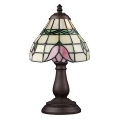 ELK Lighting Mix and Match Section 080-TB-09 Table Lamp - 6W in. - Tiffany Bronze - 080-TB-09
