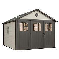 Lifetime Storage Building With Tri Fold Doors, 11u0027 X 18.5u0027