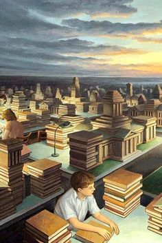 Get lost in the magical surrealism of Rob Gonsalves. Canadian artist Rob Gonsalves will make you question your perceptions on the world. Optical Illusion Paintings, Optical Illusions, Surrealism Painting, Pop Surrealism, Robert Gonsalves, Magic Realism, Wow Art, Surreal Art, Oeuvre D'art
