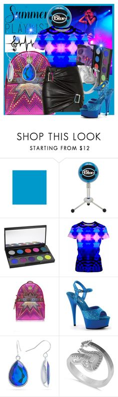 """""""Summer Playlist"""" by anniecy ❤ liked on Polyvore featuring Equipment, Charli, Urban Decay, MCM, Pleaser, 3ina, Belk Silverworks, Allurez, Jitrois and chic"""