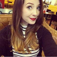 Zoella short hair <3