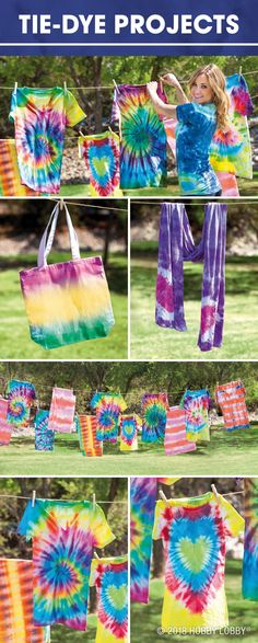 Splash into a color-wonderful wardrobe with an old-school classic—tie dye!