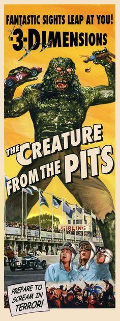 The Creature From The Pits - Prepare To Scream In Terror!!!