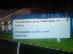 Oh Sims...