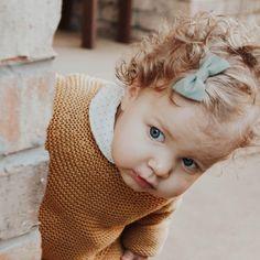 baby girl hair bow mint, sea, green, blue