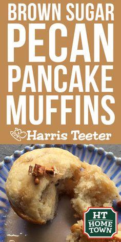Brown Sugar Pecan Pancake Muffins